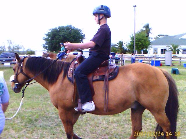 Adult riding camp