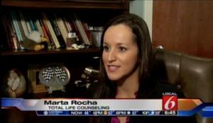 Marta Rocha WKMG Facebook Facecrack Depression Profile Counselor Orlando Florida Therapist