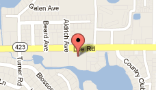 Winter Park Therapy Total Life Counseling Center Map