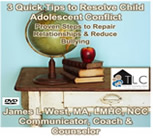 Child Adolescent Teen Teenager Conflict Resolution Program for Families, School or Group Therapy
