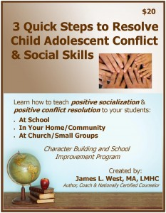 3 Quick Steps to Resolve Conflict Workbook Cover