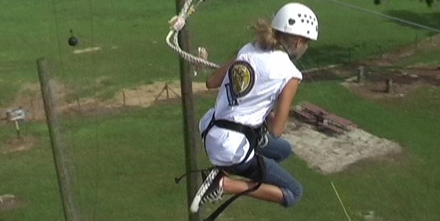 Zip Line Social Skills Camp Day Summer Adventure Based Counseling Therapy Orlando Central Florida
