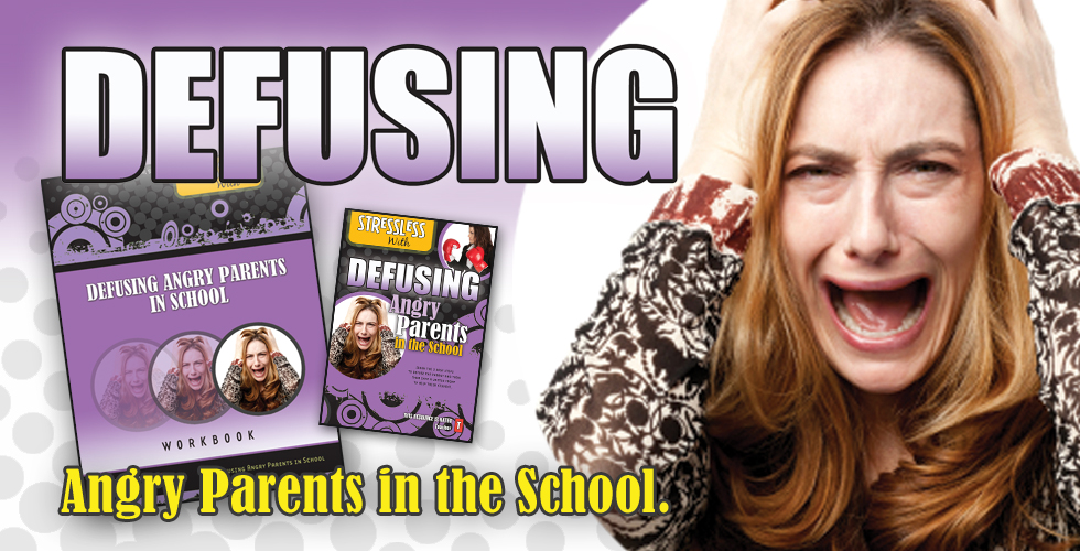 Teacher or School Video for Defusing Challenging Angry Parents in the School or Non-Profit