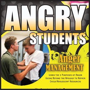 Anger Management Audio & Workbook for Students with Family Expert Jim West Counselor Orlando
