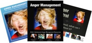 Anger Management Curriculum for Teens and Children Groups Counselors Therapists Parents Audio Workbook Handouts Power Point