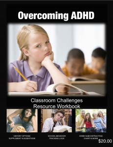 Overcoming ADHD Workbook - Cover