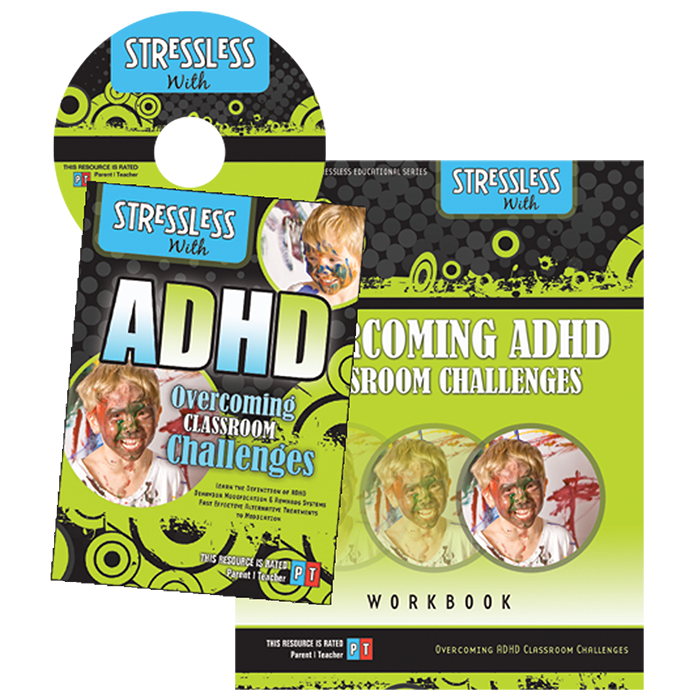 Product Photo: ADHD Overcoming Classroom Challenges Video Series & Workbook