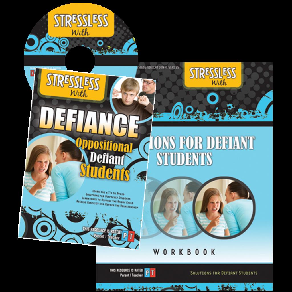 Parent Solutions Video Workbook for Defiant Stubborn Children and Teenagers