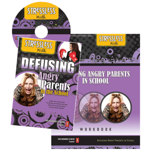 StressLess with Defusing Challenging Angry Parents in the School or Non-Profit Organization Orlando Florida