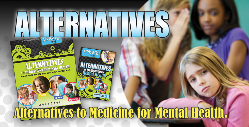Video Tips for Alternatives to Medication for Mental Health, Vitamins for Bipolar, Anxiety, Depression, ADHD Diet and Supplements