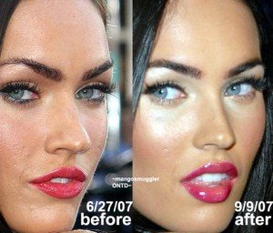 Megan Fox: Before and After