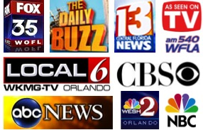 Fox 35 Daily Buzz TV Media Channel13 WKMG 6 WESH 2 NBC CBS Medical Minute Radio Counselors Orlando Florida Winter Park Clermont East Orlando