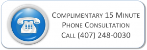 complimentary free 15 minutes consultation with a qualified counselor specialist therapist orlando winter park florida east orlando clermont central florida