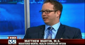 Matthew Martin, M.S. Communicator Coach Counselor Total Life Counseling Center Male Therapist