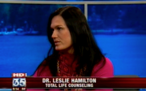 Lake Mary Anxiety Counselor Therapist Dr. Leslie Hamilton, PhD Marriage & Family Expert on Fox 35 News Interview