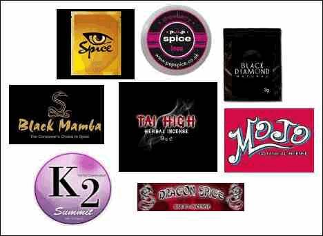 K2 K 2 Spice different labels dangers parent tips Tai High Black Mamba Mojo