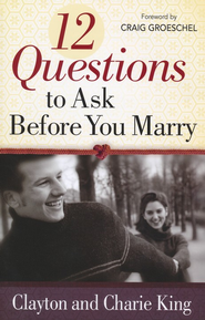 12 Questions to Ask Before you Marry Premarital Book Counseling Orlando