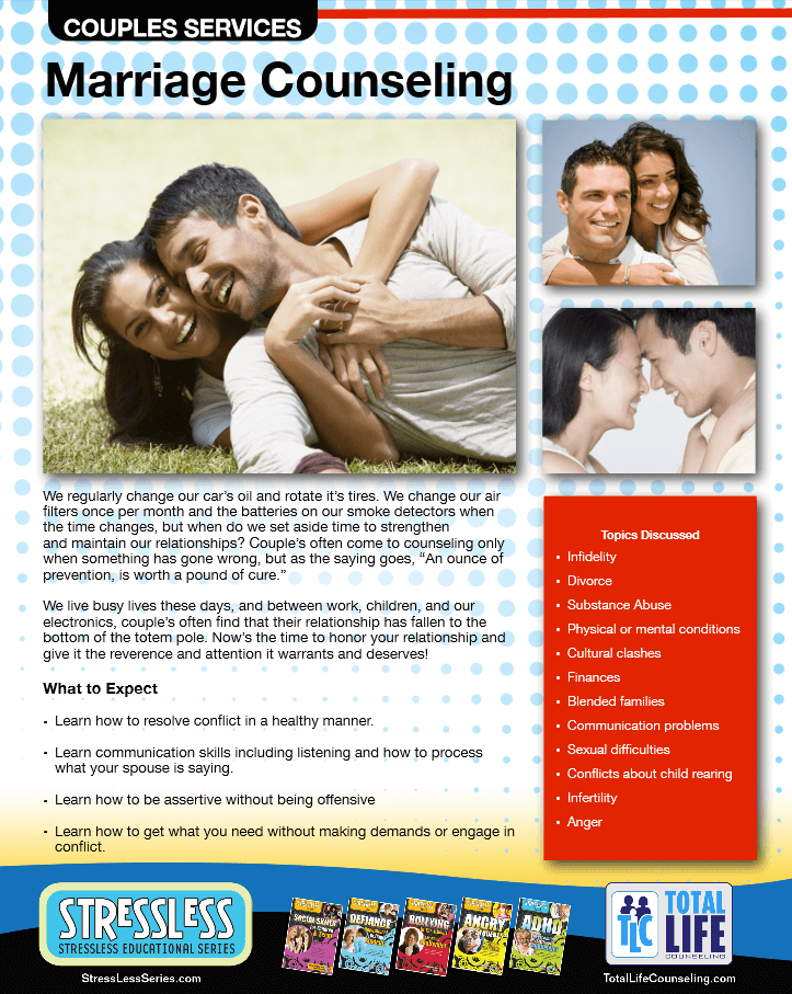 General Marriage Counseling 2015