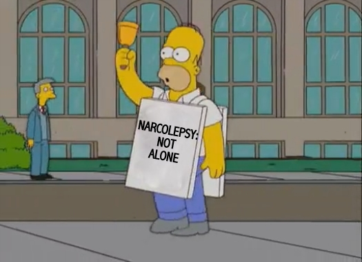 homer-simpson-narcolepsy-not-alone