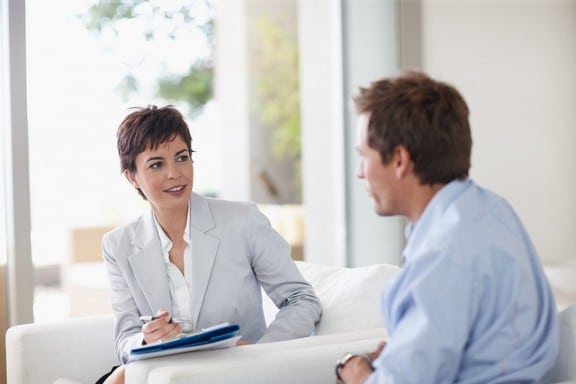 Adult therapy counselor meeting with patient in Clermont, FL