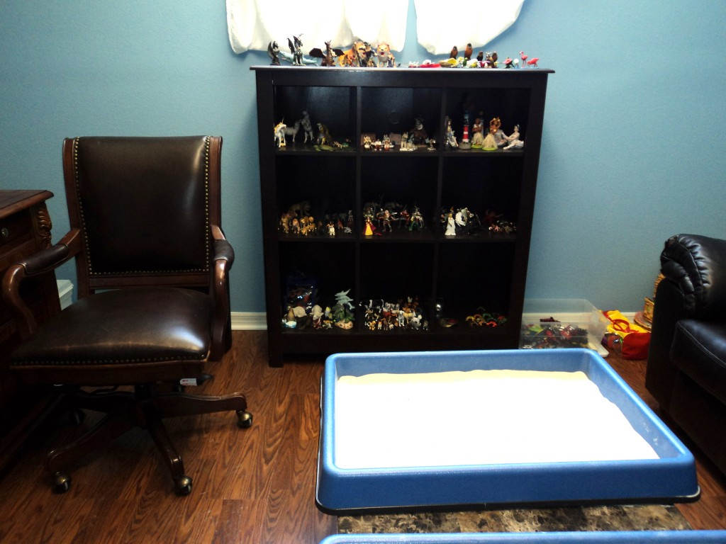 Play Therapy Office at Total Life Counseling Center Clermont
