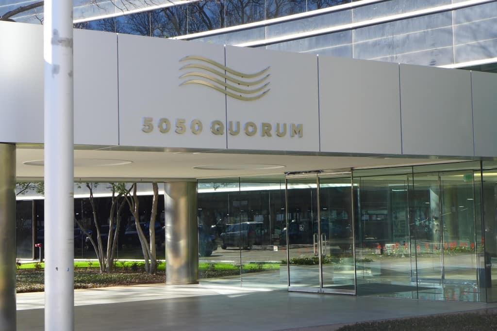 Quorum office building in Texas